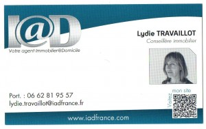 Lydie Travaillot Conseillère immobilier